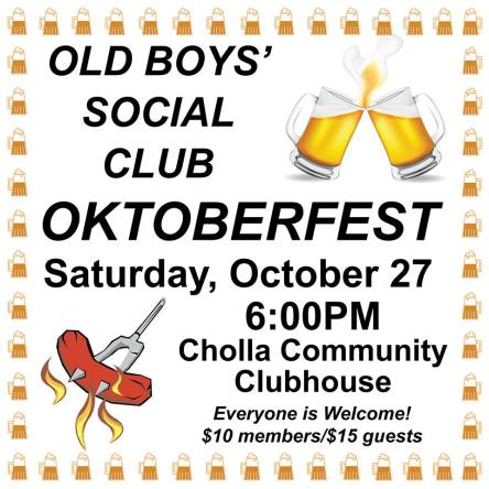old-boys-social-clb Trick or Treat - Rocky Point Weekend Rundown!