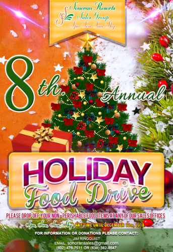 sonoran-resorts-food-drive It's beginning to look a lot like...Rocky Point Weekend Rundown!