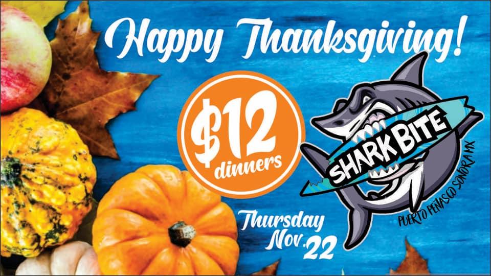 thanksgiving-sharkbite-1 Thanksgiving options in Puerto Peñasco