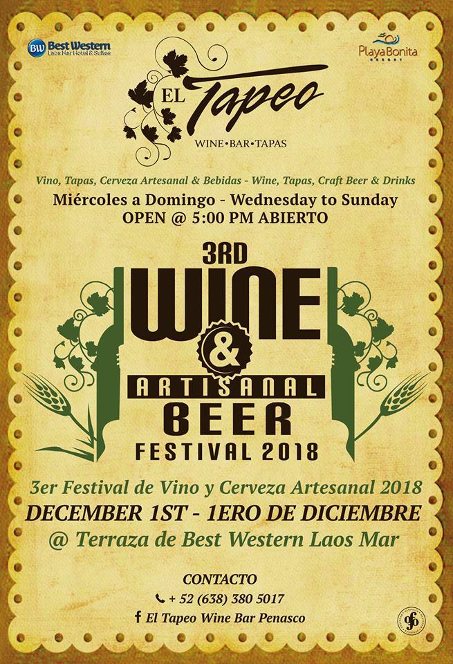 wine-fest-diciembre Jam on!  Rocky Point Weekend Rundown!