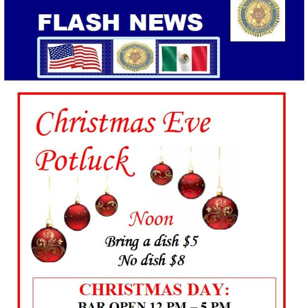 christmas-am-legion Dining out in Puerto Peñasco over Christmas?