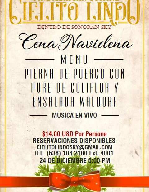 cielito-lindo-navidad Dining out in Puerto Peñasco over Christmas?