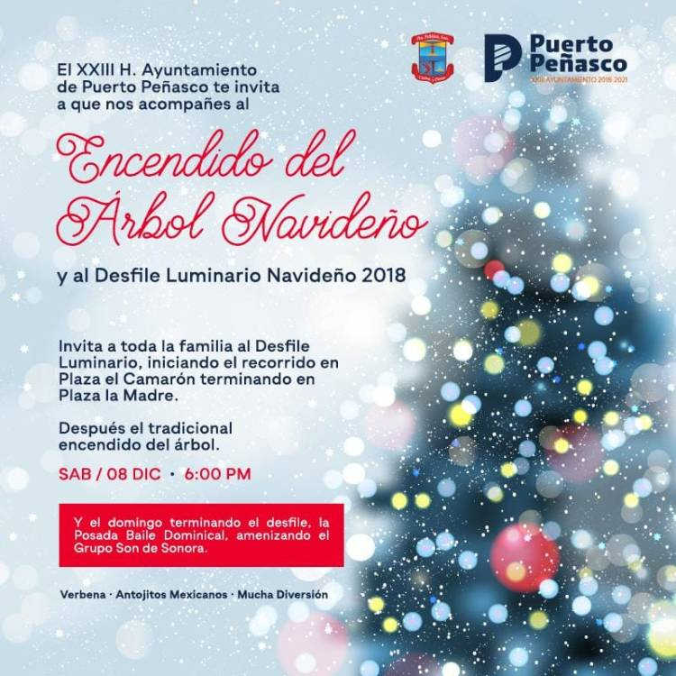 desfile-navideno-8dic-arbol It's beginning to look a lot like...Rocky Point Weekend Rundown!