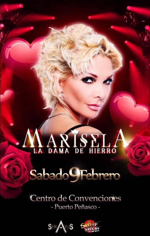 Marisela – La Dama de Hierro @ Peñasco Expo Convention Center