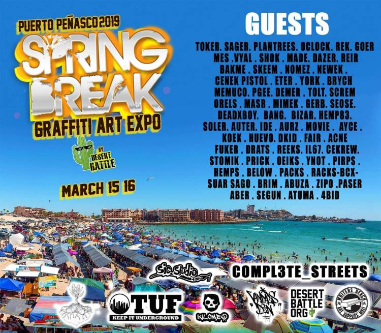 Spring-Break-Graffiti-1200x1049 Hello, March! Rocky Point Weekend Rundown!