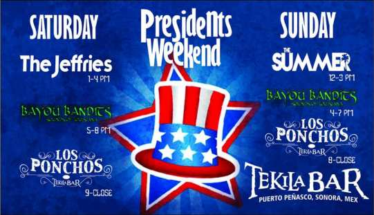 Tekila-Presidents-Day-19 What's not to love?  Rocky Point Weekend Rundown!