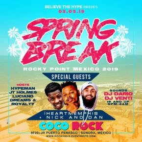 Coco-Rock-Spring-Break-19 MARCHing in Rocky Point! RP360 Weekend Rundown!
