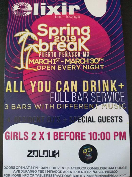 Elixir-Spring-Break-19 Spring Break @ Elixir