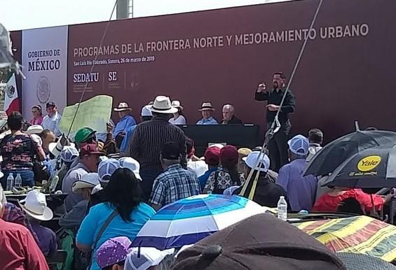 amlo-slrc-2 Mexican President Andrés Manuel López Obrador visits border region