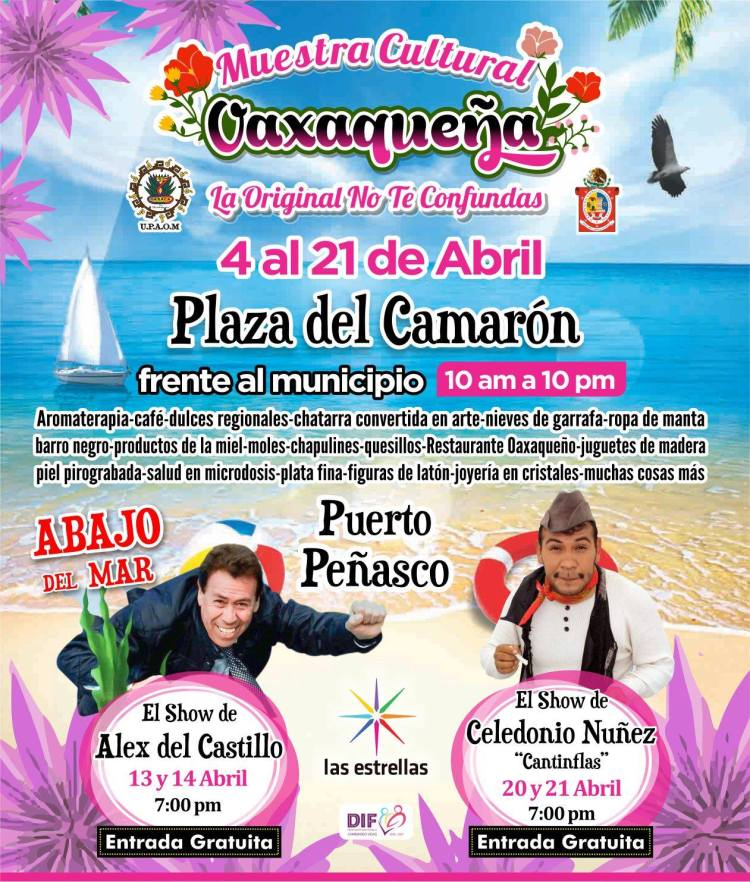 Muestra-Cultural-Oaxaqueña Oaxaca Culture Fair