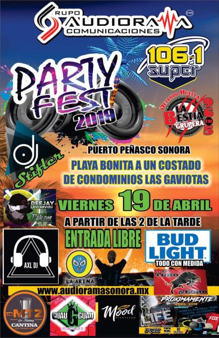 Party-Fest-19-777x1200 Semana Santa! Rocky Point Weekend Rundown!