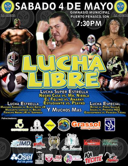arena-3c-may4-lucha-libre Semana Santa! Rocky Point Weekend Rundown!