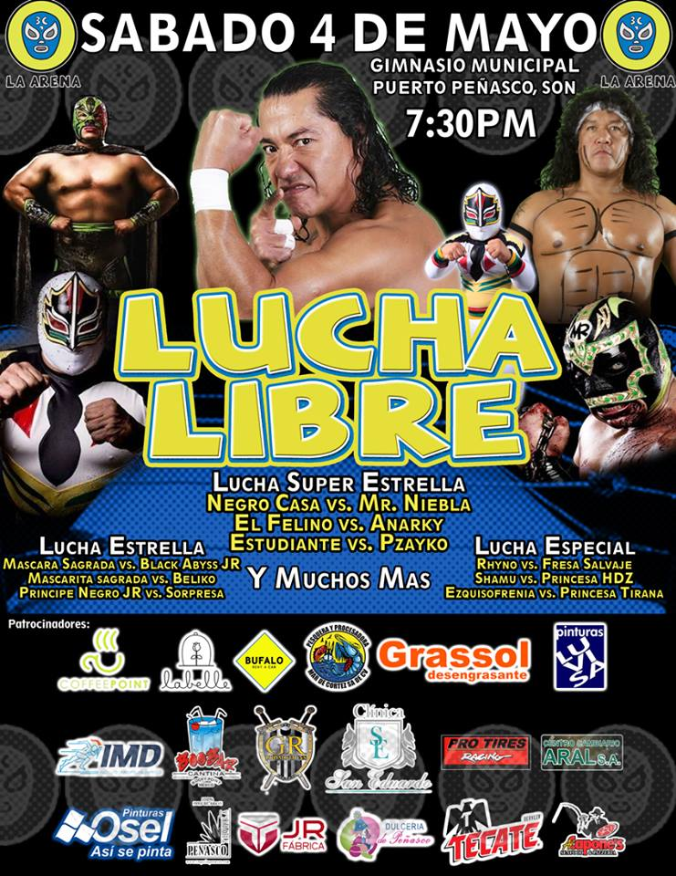 arena-3c-may4-lucha-libre ¡Ahora si! ¡VAMOS GALLO! RP Weekend Rundown