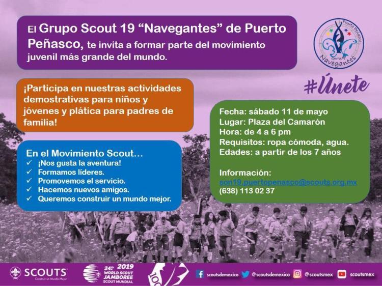 """scouts-invitacion-navegantes Invitación 11 mayo - Scouts """"Navegantes"""""""