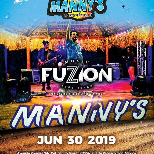 Fuzzion-Mannys-June-19 ¡Hola verano! Rocky Point Weekend Rundown