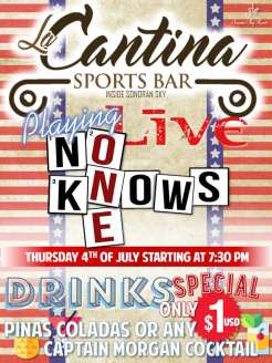 La-Cantina-4th-of-July-19 4th of July @ the beach! Rocky Point weekend rundown!