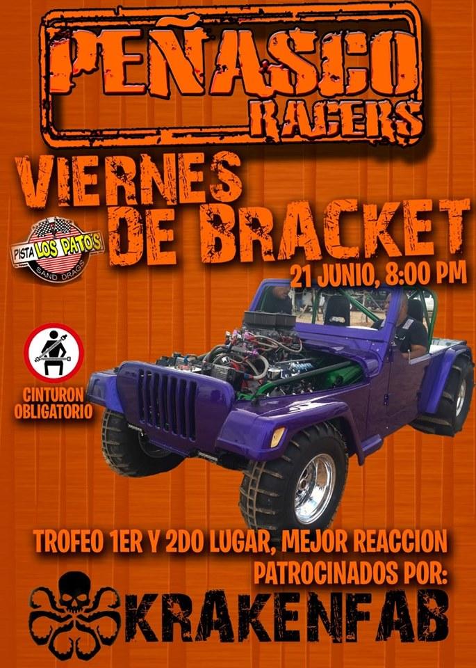 Peñasco-Racers-Bracket-19 Drag Racing at Pista Los Patos