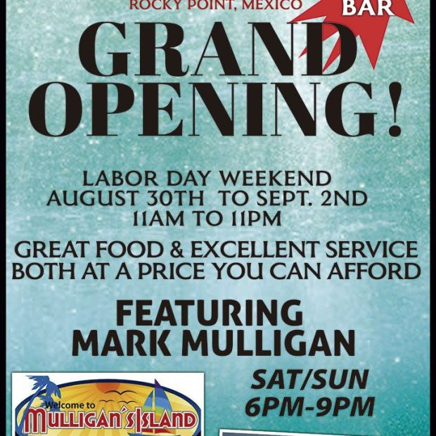 Captn-Manuel-grand-opening-19 Labor Day Weekend in Rocky Point 2019!
