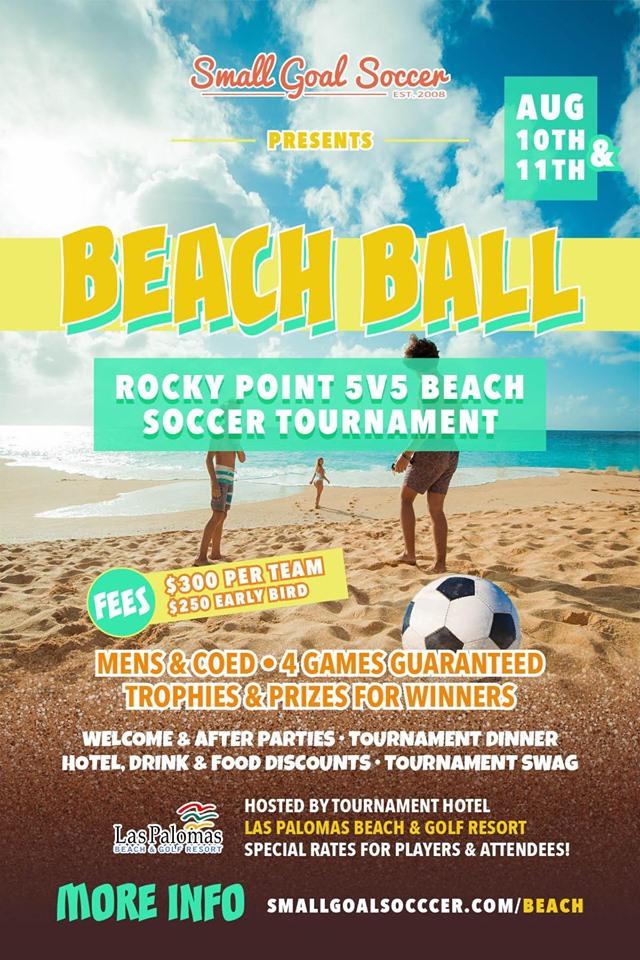 Small-Goal-beach-soccer-19 Save the Dates! Rocky Point Weekend Rundown!