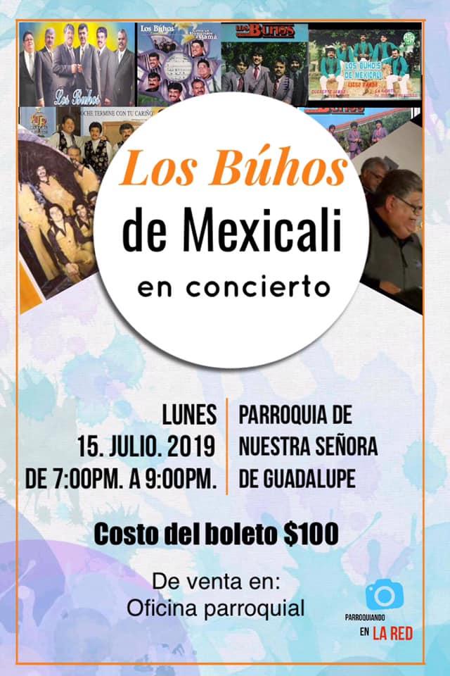 buhos-julio-parroquia Los Buhos de Mexicali en Concierto