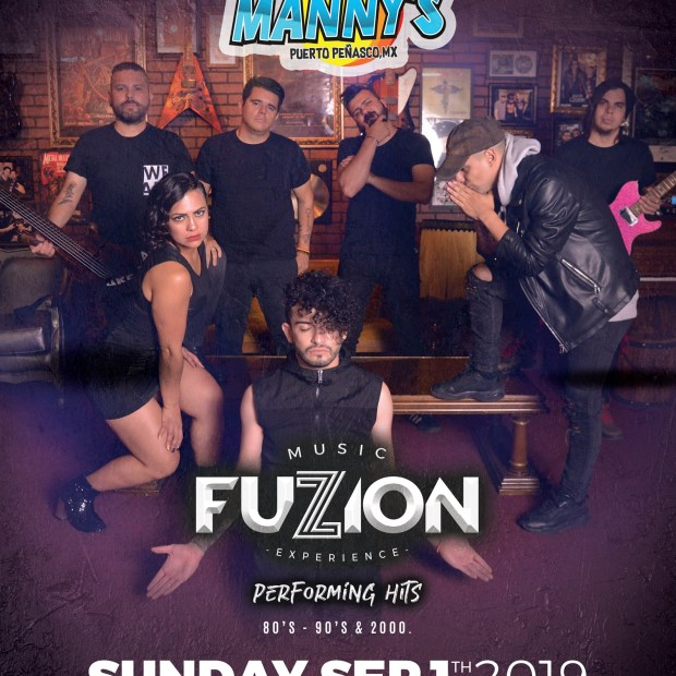 Fuzzion-Mannys-September-19 Labor Day Weekend in Rocky Point 2019!