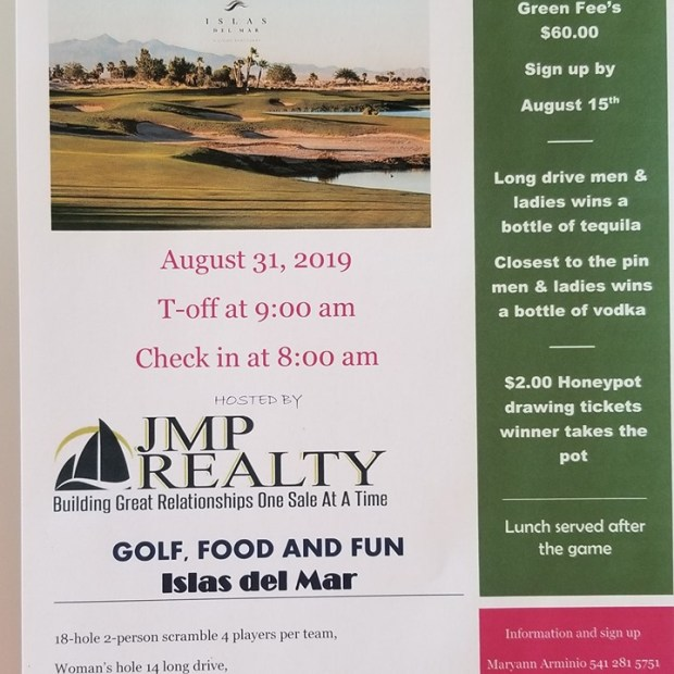 IMP-Realty-Golf-Tourney-19 Labor Day 2019 Rocky Point Weekend Rundown!