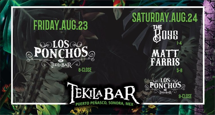 Tekila-Bar-Labor-Day Tekila Bar Music Lineup Aug 23 & 24
