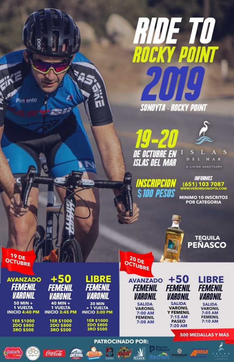 EVENTO-CICLICSTA-2019-776x1200 Let's Beach! Rocky Point Weekend Rundown!