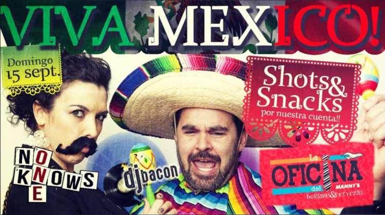 Independence-Day-La-Oficina-19 Viva Mexico! Fiesta en La Oficina del Manny's