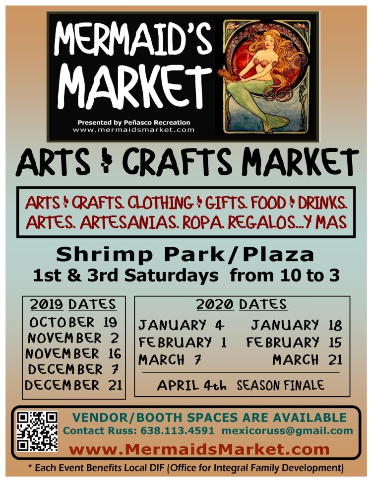 Mermaids-Market-19-20-Schedule-927x1200 Whatcha got? AMOR! Rocky Point Weekend Rundown!
