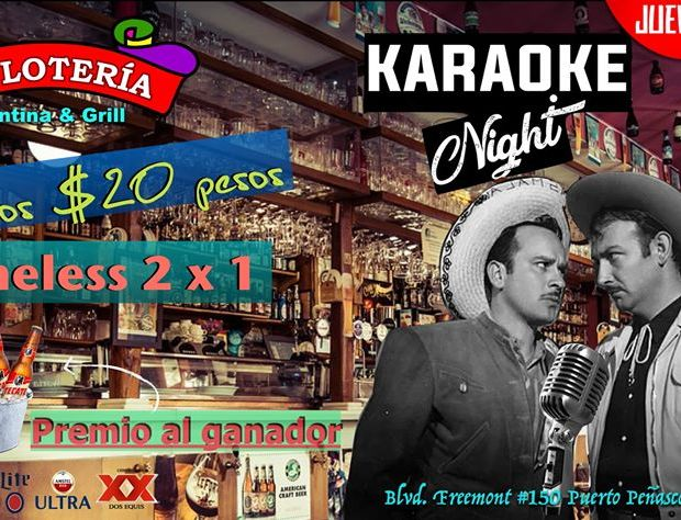 la-loteria-jueves-karaoke ¡La Diversión! Rocky Point Weekend Rundown!