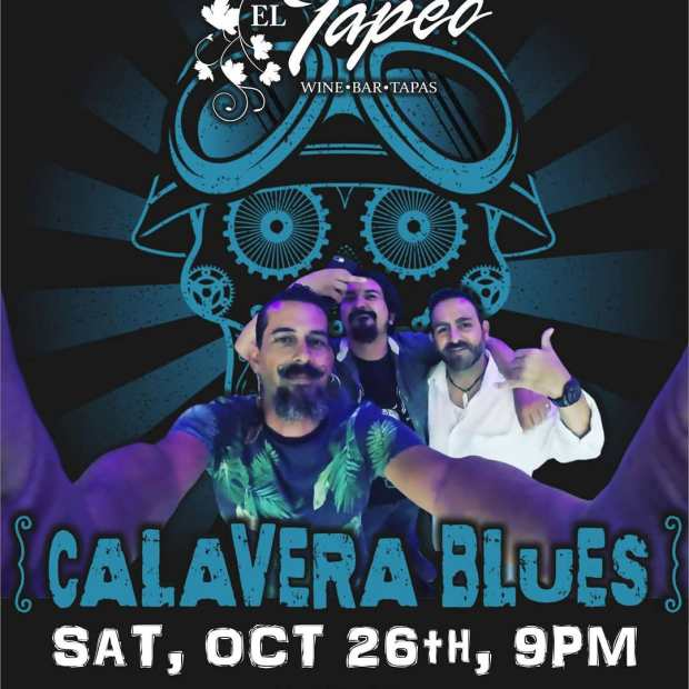 Calavera-Blues-El-Tapeo-Oct-19 Eat your art out! Rocky Point Weekend Rundown!