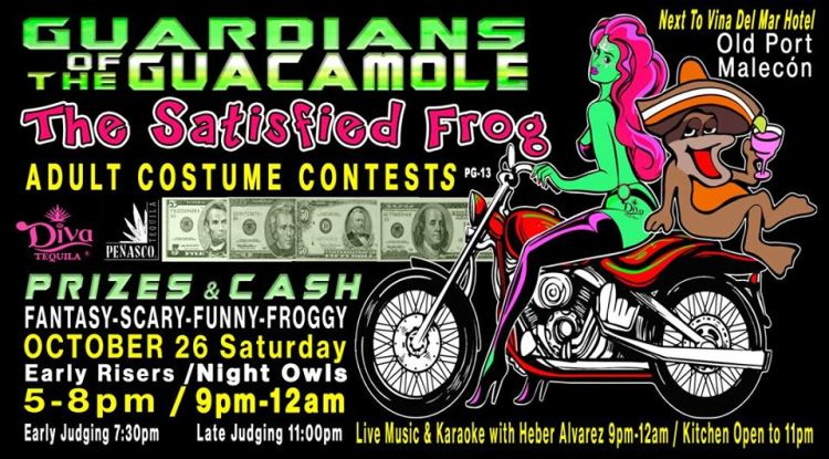 Satisfied-Frog-Costume-Contest Eat your art out! Rocky Point Weekend Rundown!