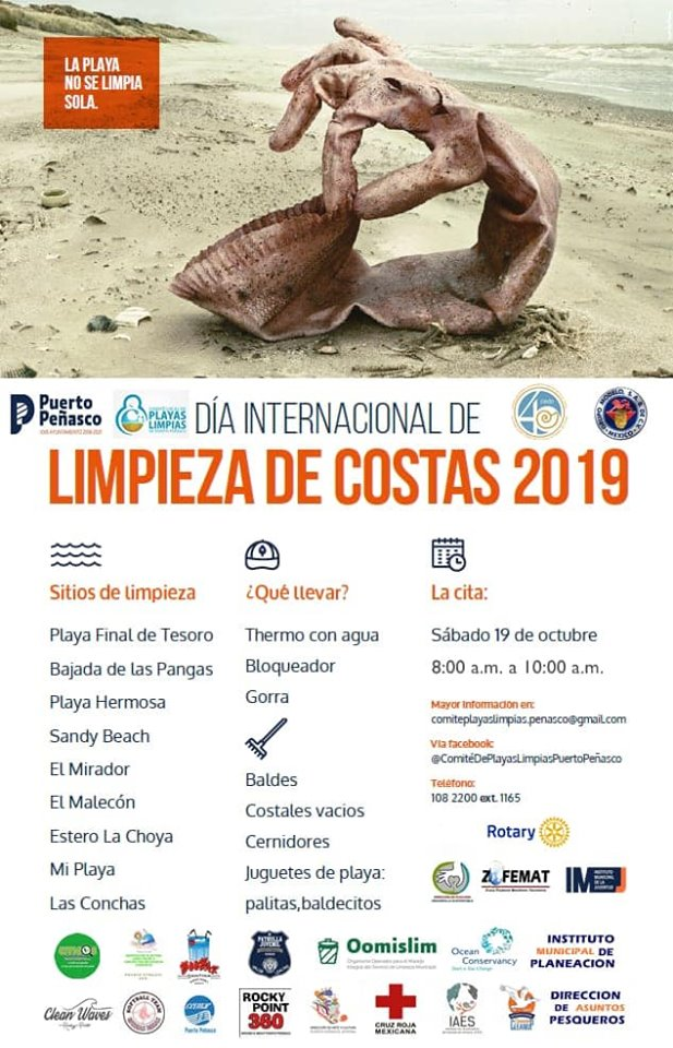 limpieza-19-octubre Jornada de Limpieza Internacional de Costas 2019
