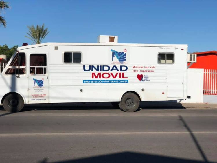 unidad-movil Cancer detection campaign sees over 300 people