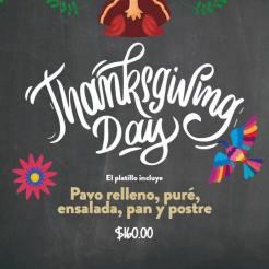 Delicias-Thanksgiving-19 Turkey plans 2019?
