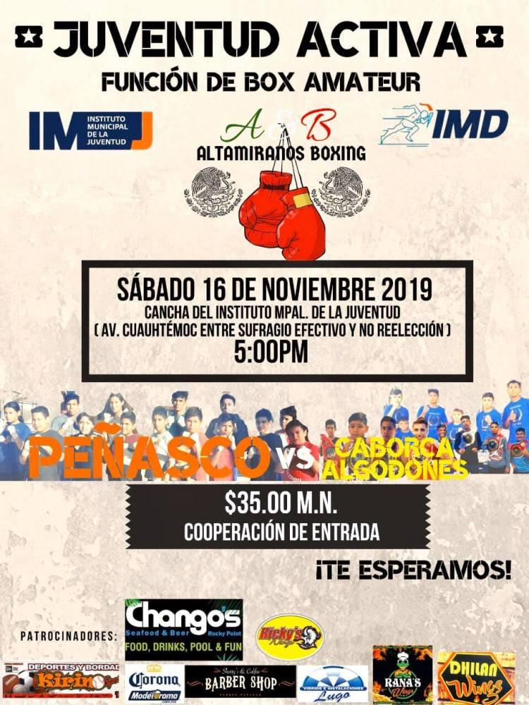 IMJ-Box-Amateur-19 Box Amateur P. Peñasco Vs. Caborca/Algodones
