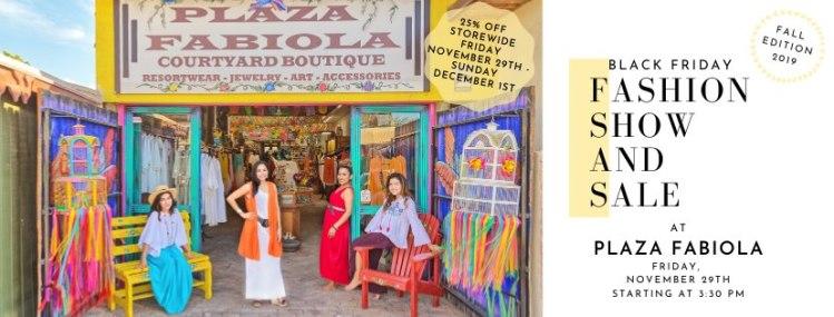 Plaza-Fabiola-Fashion-Show-Nov-19 Plaza Fabiola Black Friday show & sale 2019