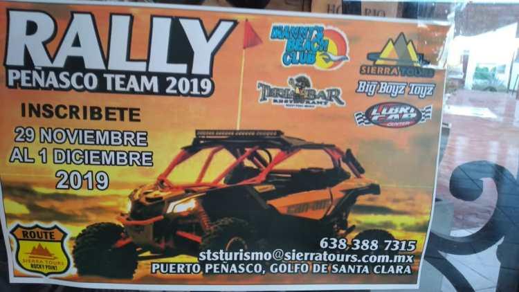Rally-Peñasco-Team-19 What Novem-brrr ? Rocky Point Weekend Rundown!
