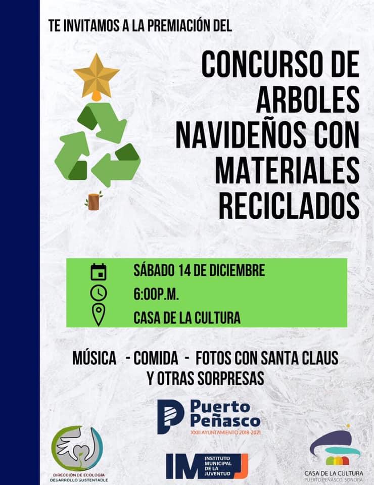 arbol-concurso-reciclado-2019b 2019 Contest for Christmas Trees made from recycled materials