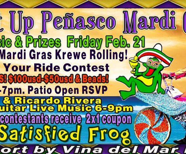 Light-up-Peñasco-Satisfied-Frog-Mardi-Gras-20 Bowl-ing  Rocky Point Weekend Rundown!