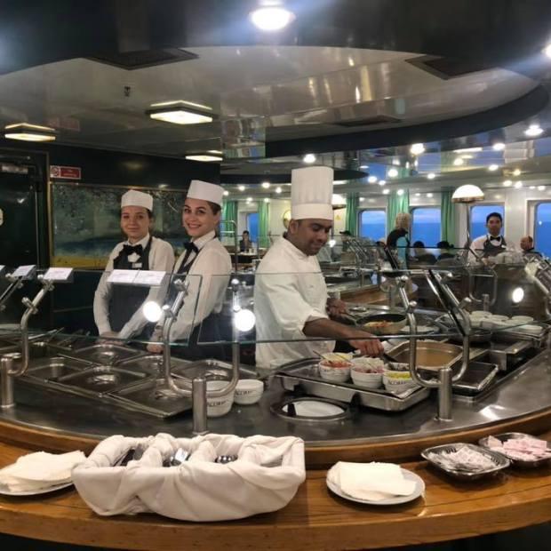 MV-Astoria-M-Snyder-buffet MV Astoria returns from first voyage through Sea of Cortez