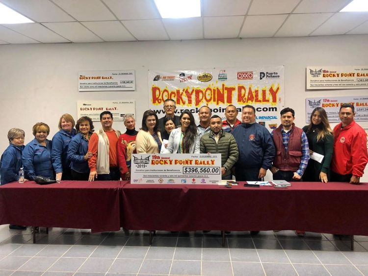 rally-donations-2019 Rocky Point Rally delivers donations of nearly 400,000 pesos