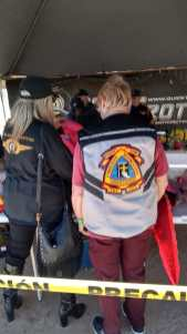 toy-run-volunteers Roar of motorcycles highlights 6th Annual Kings Day Toy Run