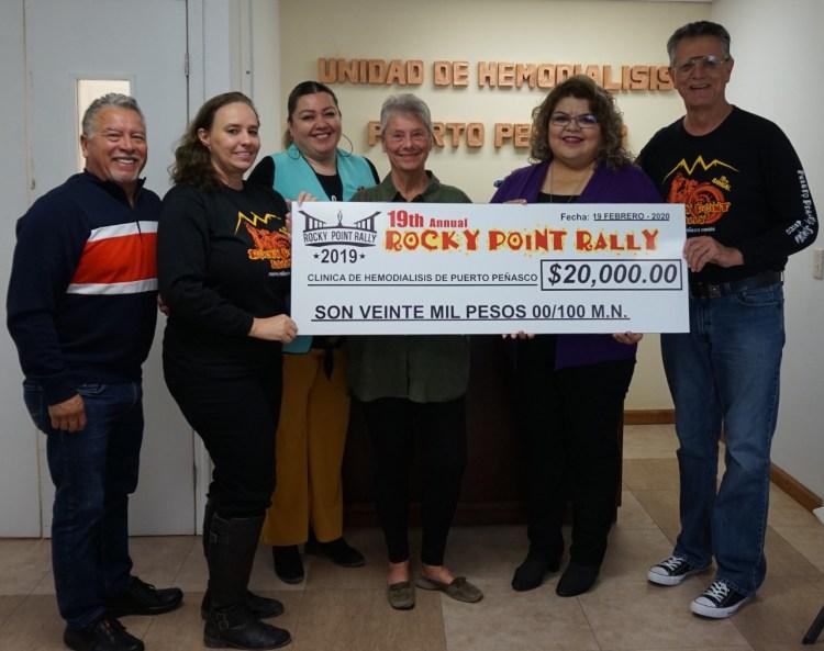 2-1200x949 Rocky Point Rally donation to Puerto Peñasco Dialysis Unit