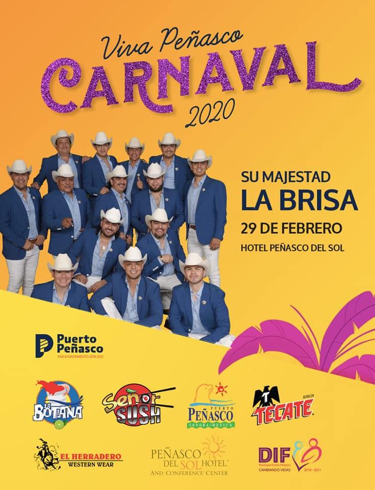 29-feb Viva Peñasco 2020 Carnaval Calendar