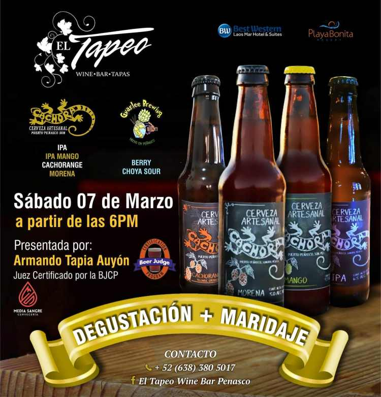 El-Tapeo-Degustacion-y-Maridaje-Marzo-20-1151x1200 Whatcha got? AMOR! Rocky Point Weekend Rundown!
