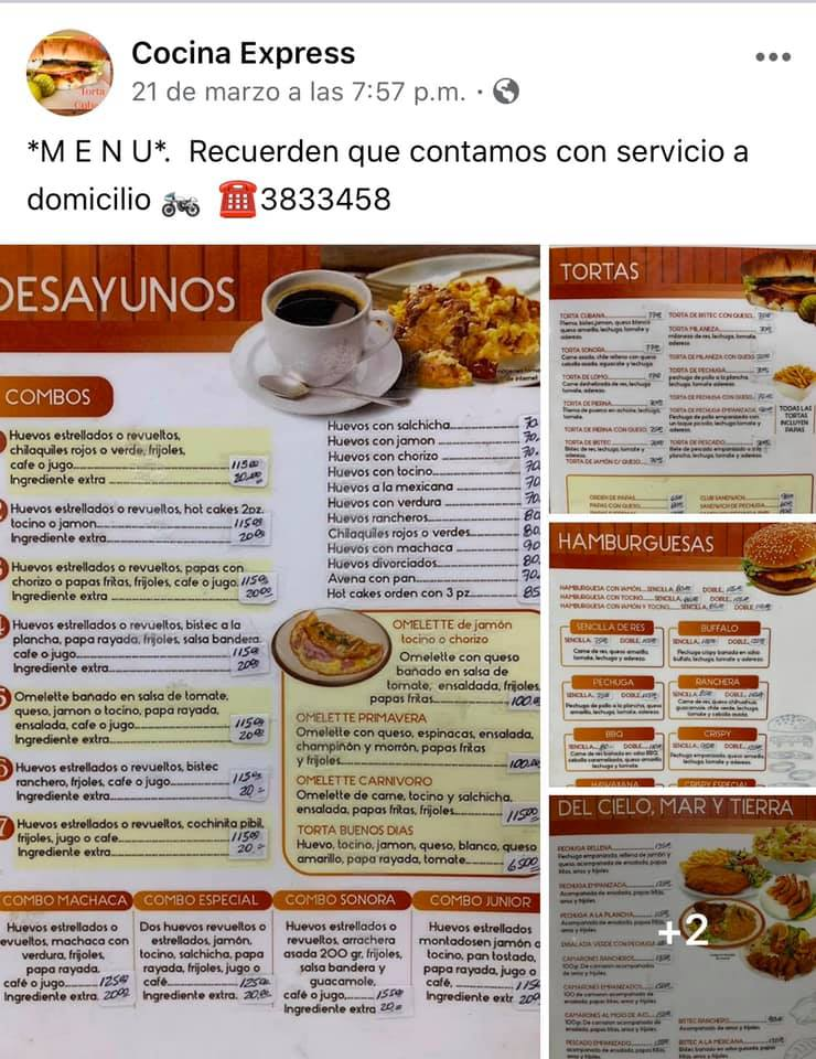cocina-express #ConsumeLocal #supportlocalbusiness