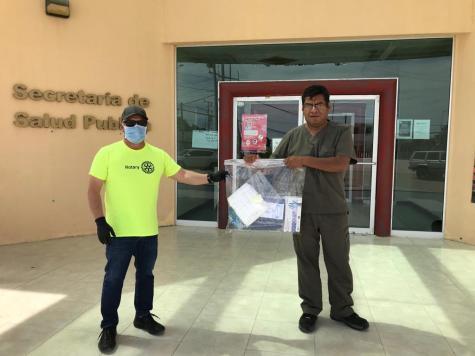 17-abril-entrega-caretas-hosp-general Peñasco Rotary Club invites donors for medical supply drive