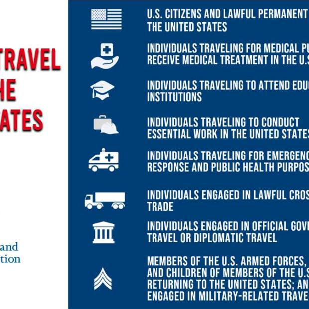 essential-travel-to-US-english US extends Non-Essential Travel Restrictions at Land entries to June 22nd